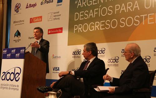 Mauricio Macri inagura Encuentro Anual de ACDE (4 de 4)