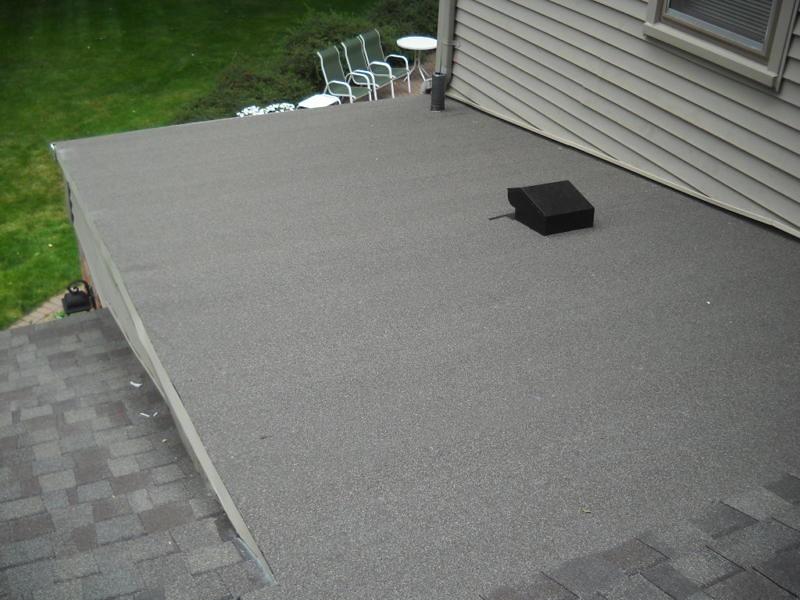 Flat roof 3