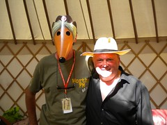 Mike Batt aka Orinoco finds a Worthy shaped Womble