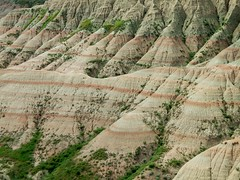 Badlands National Park 1 (ConanTheLibrarian) Tags: rock southdakota rocks erosion strata badlands landforms badlandsnationalpark