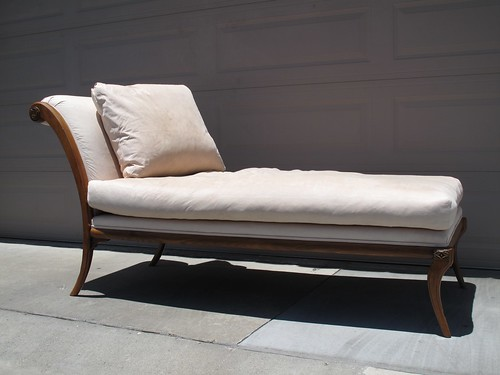 Beautiful Kreiss Ares Chaise I bought on Craigslist