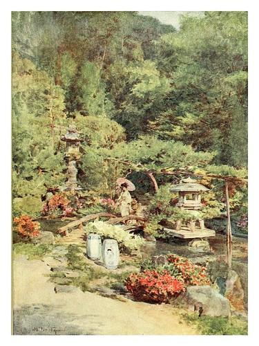 016-Un diseño de jardin clasico en Kyoto-Japanese gardens 1912-Walter Tyndale