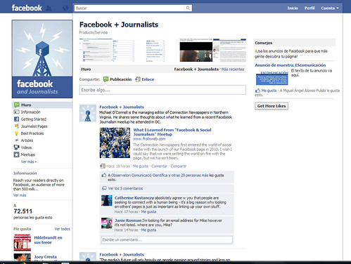 Facebook+journalists