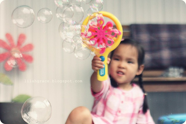 Ooh la la, bubbles!