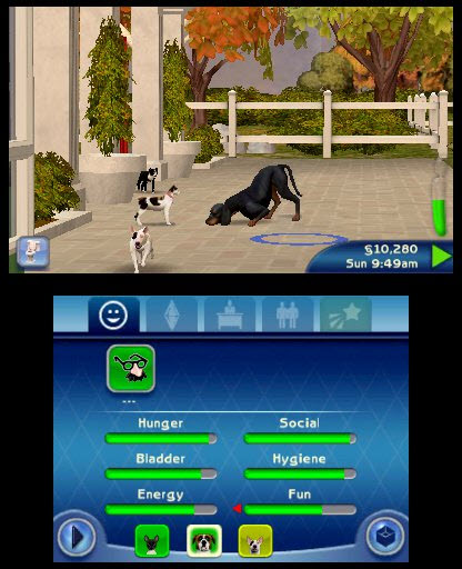 The Sims 3 Pets Multiple Dogs