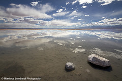 Between Earth and Heaven (Gianluca Lombardi Bani) Tags: chile reflection landscape desert wideangle atacama desierto salar hdr msm chaxa sigma816
