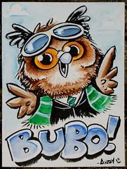 Bubo's badge art!