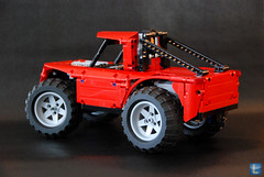 Big Toe (LegOscar) Tags: show car monster race truck oscar cool acc driving power lego awesome extreme wheels pickup competition technic trucks functions rc pf stunts allround legoscar
