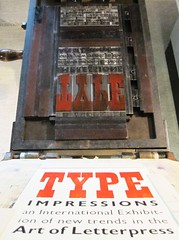 TYPE IMPRESSIONS - an international Letterpress exhibition (bogtrykkeren) Tags: european graphic north exhibition international type impressions letterpress odense symposium brandts fyns vrksted grafiske mediemuseet