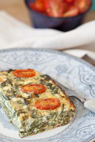 Ricotta and chard bake / Ricotta ja lehtpeedi vorm