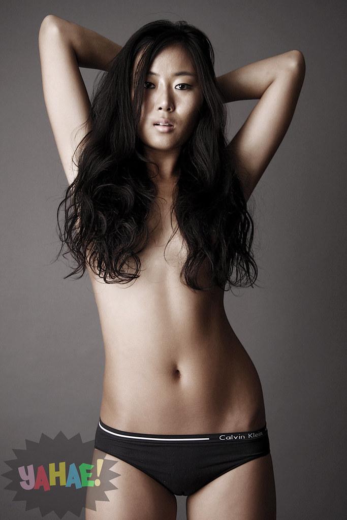 bra Asian and wearing panties girl