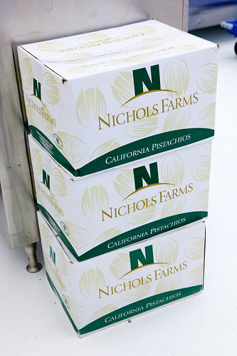 Cases of California pistachios