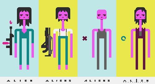 ALIEN(S)³ - Ellen Ripley Icons by omarrr