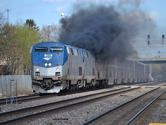 Honorary Alco? (Robby Gragg) Tags: amtrak naperville 194 p42