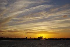 Sunset over the Thames (Derek Morgan Photos) Tags: sunset pswaverley thames londonskyline