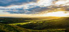 campsie sunlit landscape (murphy197) Tags: scotland scenic sunset landscape lights anneflaherty nikond7100 tokina1116mm