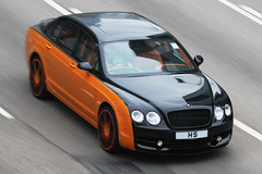 """MANSORY 2008 Bentley Continental Flying Spur """"HS"""" (Daryl Chapman Photography) Tags: auto car canon hongkong cool automobile continental 7d british panning bentley flyingspur 100400l mansory worldcars"""