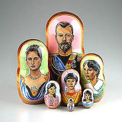 Romanov Family Russian Nesting Doll (The Russian Store) Tags: trs matrioshka matryoshka russiannestingdolls  stackingdoll  russianstore  russiangifts  russiancollectibledolls shoprussian