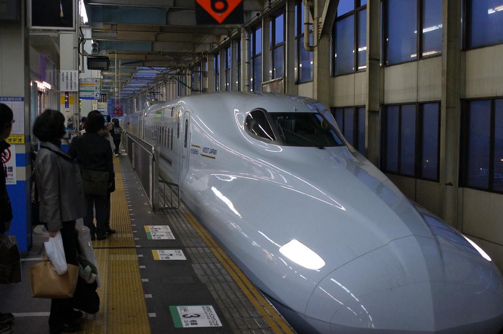 """brand-new Shinkansen """"Sakura / さくら"""" #3 N700-7000 series"""