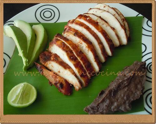 Barbacoa de Pollo estilo Michoacán