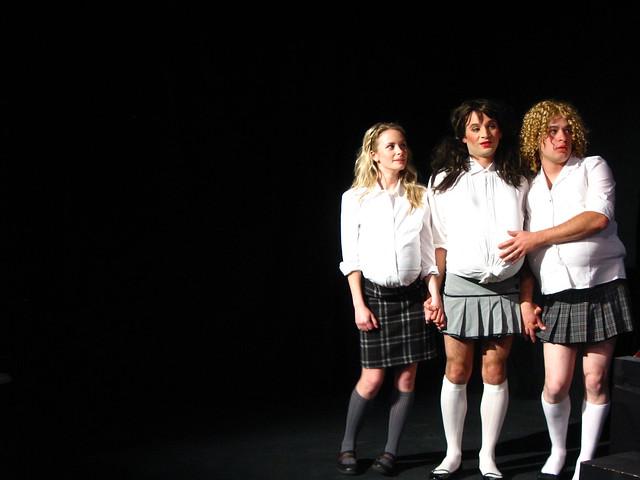 Sara, Jenn and Vivian yearn for Mr. Whiffbottom.