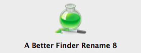 A Better Finder Rename 8