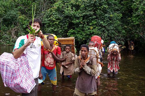 Expédition Sangha 2010 : en déplacement