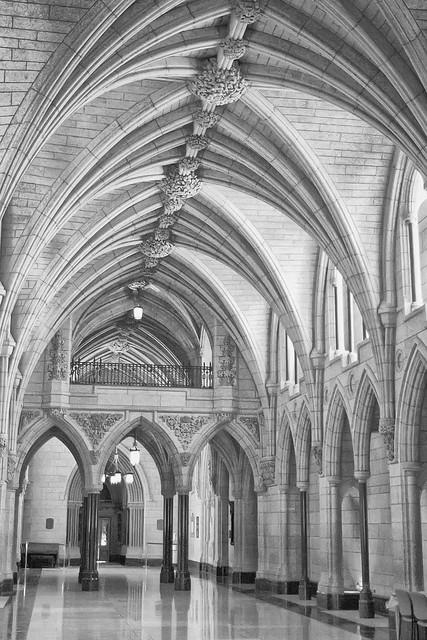 Parliamentary Hallway