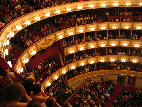 Interior of Hofopern Theatre (Vienna State Opera House)