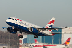 British Airways Airbus A319-131 G-EUPP cn 1295 (Clment Alloing - AirTeamImages) Tags: cn airbus british airways 1295 a319131 geupp