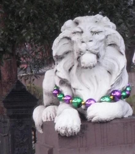Mardi Gras Lion