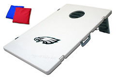 Philadelphia Eagles TailGate Toss 2.0 Plastic Cornhole Boards