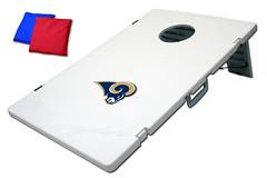 St Louis Rams TailGate Toss 2.0 Plastic Cornhole Boards