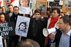IMG_2418 (czalex) Tags: london kevin demonstration jude law belarus spacey  lukashenko lukashenka