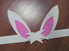 Orelhas de coelho em EVA (comofaz) Tags: bunny kids easter kid eva handmade artesanato craft foam criana crianas coelho tutorial pap pascoa coelhinho passoapasso comofaz