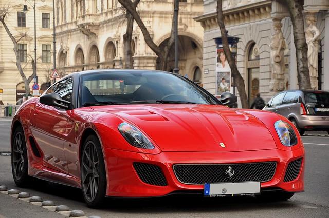 auto red car nikon hungary budapest ferrari exotic gto supercar gtb 599 fiorano 2011 d90 autó pengeverdák hgte