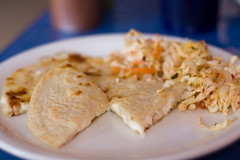 Romanti Ezer - cheese pupusa