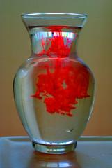 Red Liquid (splinx1) Tags: light red color art nature water composition aqua eau bokeh handheld vatten hdr vand 水 آب uisce ماء מים photomatixpro воды νερό pentaxk10d