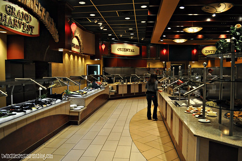 Grand Casino Buffet (left side) ~ Hinckley, MN