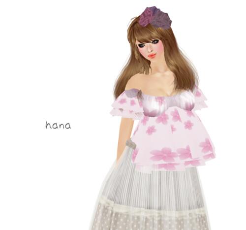 *evergreen*Sakura tunic(April-group gift)