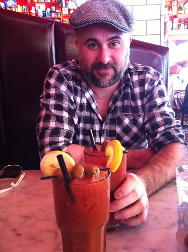 Mark and bloody Mary