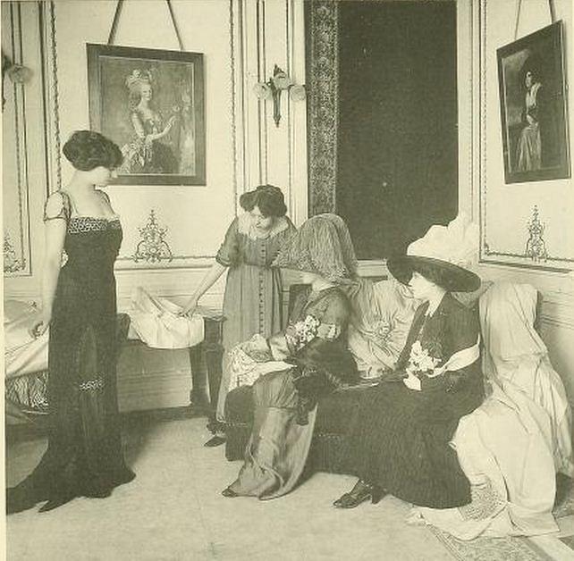 Les Createurs de La Mode 1910 - 19- Salon de Vente - Worth