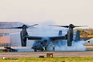 CV-22 Osprey at Mildenhall; Explore #93