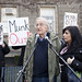 Noam Chomsky attends UofT protest against corporatism and education