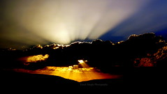 Light Crossing  (yusuf_alioglu) Tags: world light sunset shadow sky cloud sun sunlight mountain train turkey dark photography photo fantastic peace photographer view earth trkiye dream panasonic lightbeams bulut yusuf gnbatm planetearth trainride gne glge goldlight k dnya mydream karanlk aliolu planetworld easternexpress gne douekspresi alioglu darkplanet panasonicdmcls80 yusufaliolu lightcrossing yusufalioglu unbornart yusufaliogluphotography weloveyoutom imissyoutom karanlkgezegen kdemetleri skygkyz