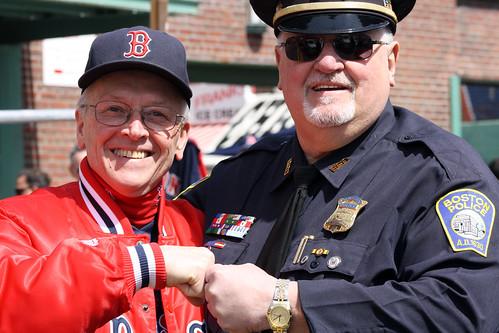Dad with Bullpen Cop