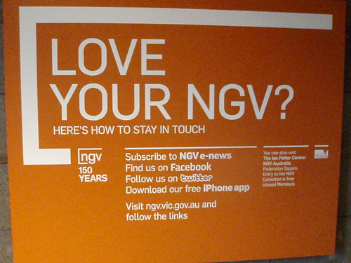 NGV use of social media by ellen forsyth