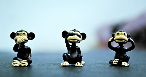 speak no evil, see no evil, hear no evil by ortizlucy80, on Flickr