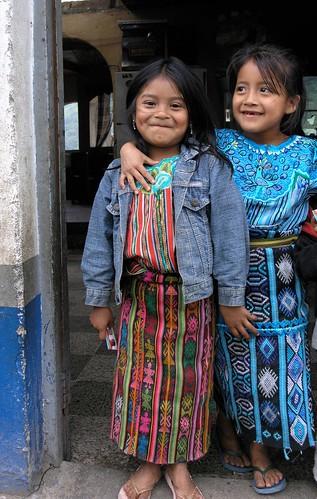 2 Muchachas - Zunil, Quetzaltenango, Guatemala