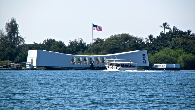 Pearl Harbor, Honolulu, Oahu, Hawaii, USS Arizona Memorial